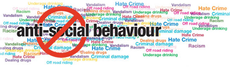 antisocial behaviour Description antisocial behavior may be overt, involving aggressive actions against siblings, peers, parents, teachers, or other adults, such as verbal abuse.