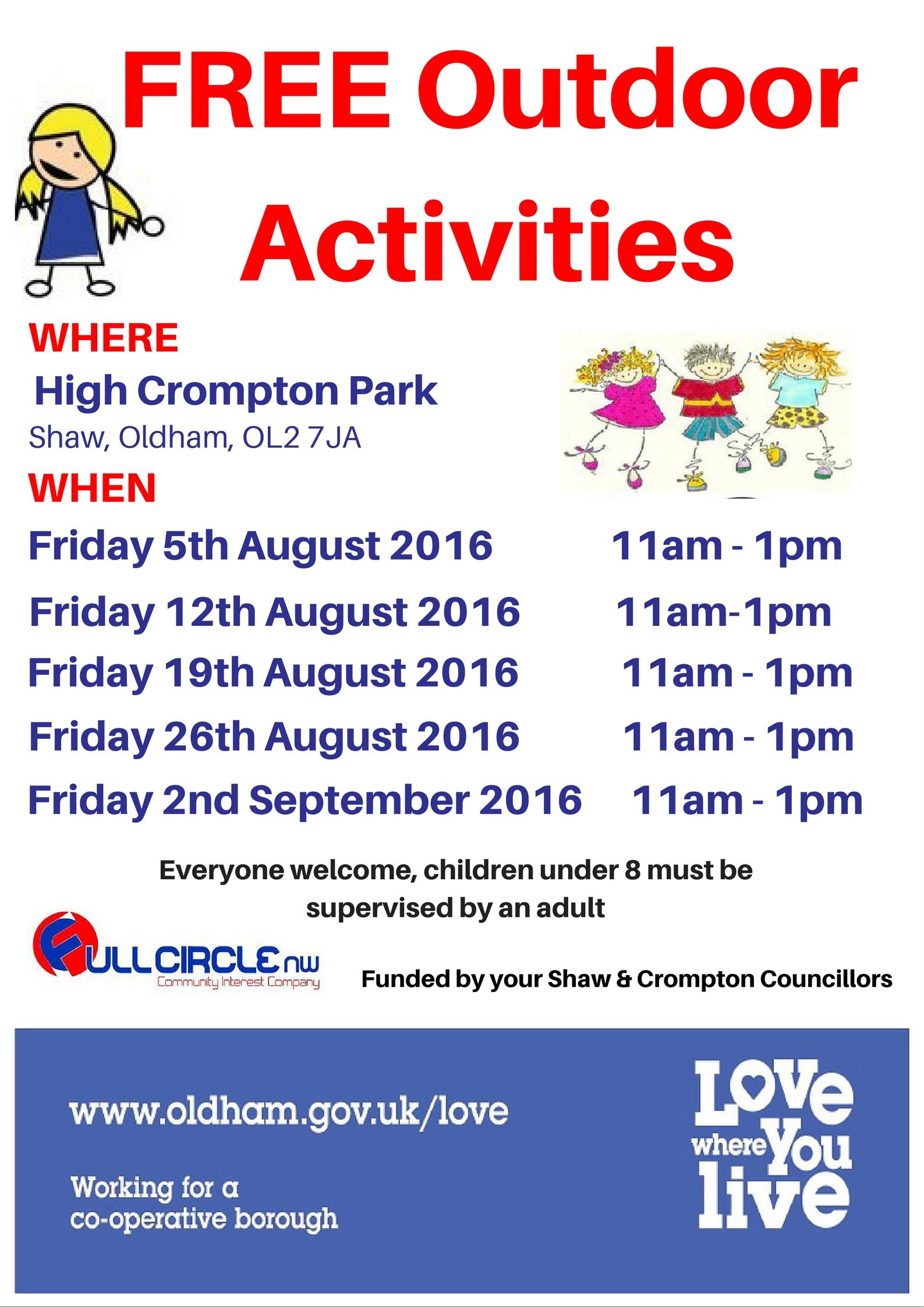 High Crompton Summer flyer